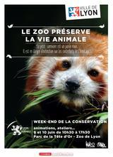 Week end de la conservation 2017