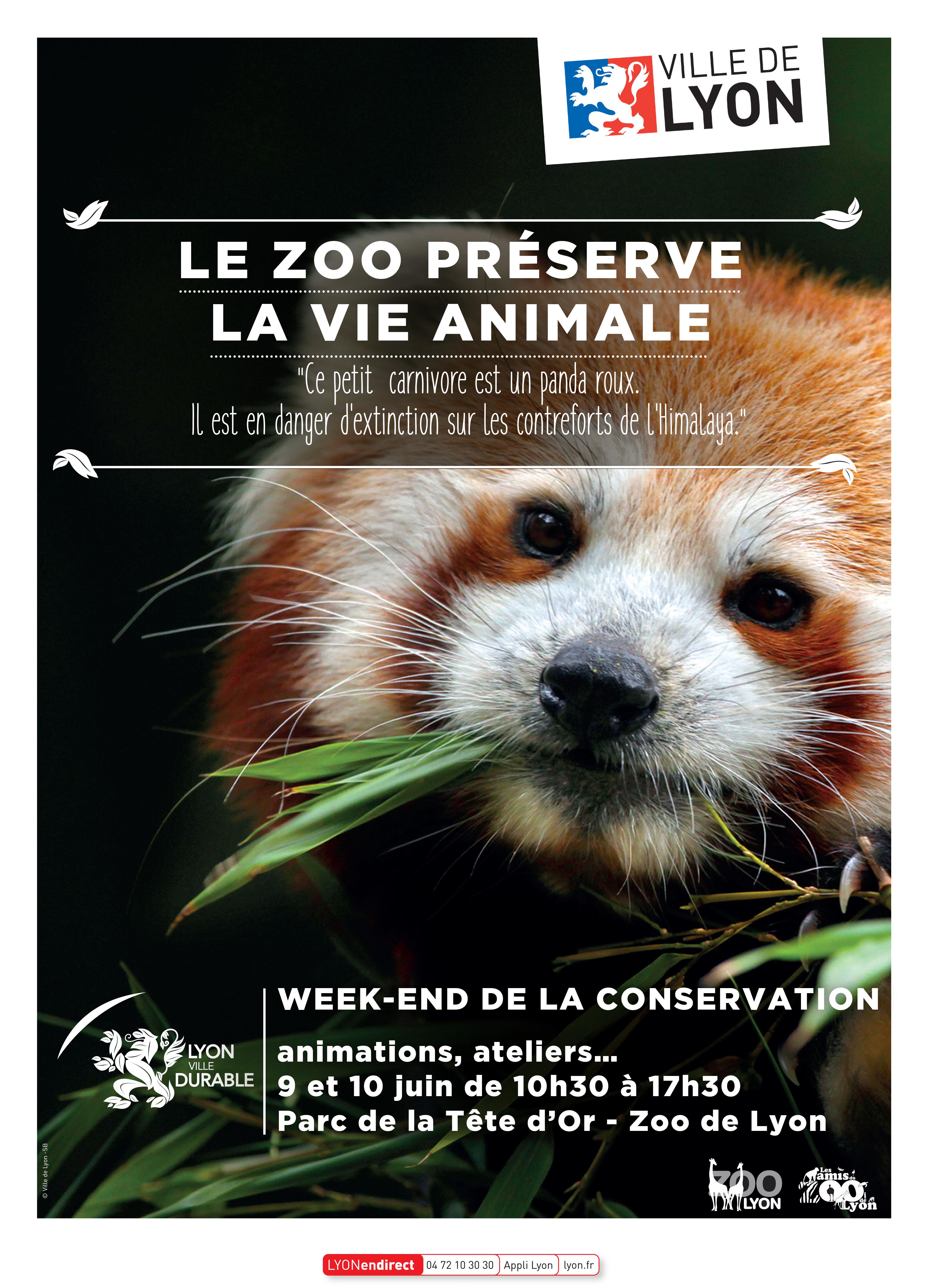Week End De La Conservation 2018 Jardin Zoologique