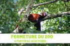FERMETURE DU ZOO A PARTIR DU 30 OCTOBRE 2020