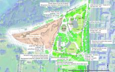 plan de la clôture du zoo